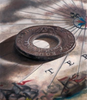 1808-Ferdinand-VII-Holey-Dollar-September-2019